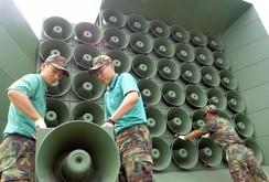 Hàn Quốc phát gì trên loa phát thanh gần biên giới Triều Tiên?