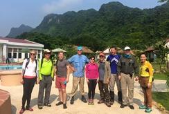 Các đại sứ bắt đầu hành trình khám phá Sơn Đoòng