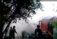 Cháy nổ đùng đùng tại kho bia quán Dạ Phi Cơ