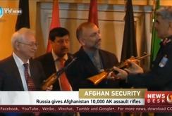 Nga viện trợ 10.000 khẩu AK-47 cho Afghanistan