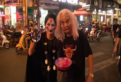 Ghi nhanh: Sài Gòn nhộn nhịp đón Halloween
