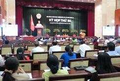 Bế mạc kỳ họp thứ 3 HĐND TP HCM khóa IX