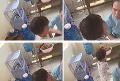 Clip: Cô giáo mầm non đánh trẻ 3 tuổi