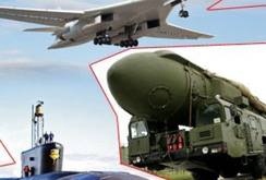 """Nga bất ngờ tiết lộ Mỹ chế tạo """"bộ ba hạt nhân"""""""