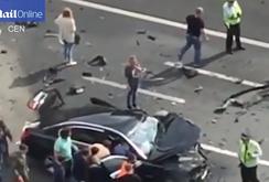 Siêu xe của Tổng thống Nga Putin bị tai nạn thảm khốc, tài xế chết tại chỗ