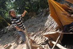 Ghi nhanh: Lũ phá tan hoang xã Đức Hóa, Tuyên Hóa, Quảng Bình