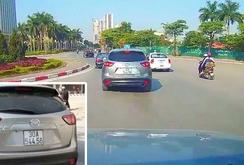 Xác định được phó giám đốc lái xe Mazda gây tai nạn rồi bỏ chạy