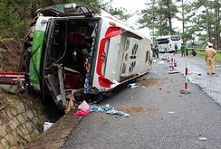 Tai nạn thảm khốc trên đèo Prenn, 8 người chết
