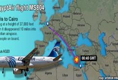 Máy bay Ai Cập rơi xuống biển: Tìm thấy thi thể trên Địa Trung Hải