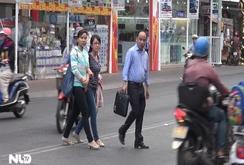 Bắt đầu phạt tiền người đi bộ vi phạm luật giao thông