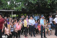 Clip: Hàng ngàn người đến viếng Đại tá phi công Trần Quang Khải ở Bắc Giang