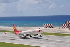 Trung Quốc thách thức dư luận, thử nghiệm 2 sân bay xây trái phép ở Trường Sa