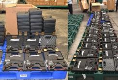 Bản tin NLĐ ngày 3-11: TPHCM tịch thu số lượng lớn súng quân dụng nhập khẩu trái phép