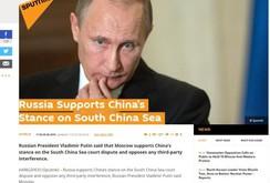 Bản tin NLĐ ngày 6-9: Tổng thống Putin ủng hộ lập trường của Trung Quốc về biển Đông