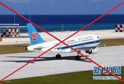 Máy bay dân sự Trung Quốc sẽ bay trái phép đến Phú Lâm