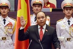 Clip: Thủ tướng Nguyễn Xuân Phúc tuyên thệ nhậm chức