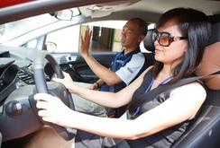 Chấm điểm sát hạch lái xe bằng cảm ứng tự động: Tỉ lệ đậu chỉ đạt 70%