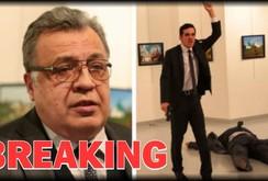 Clip: Đại sứ Nga tại Thổ Nhĩ Kỳ bị ám sát