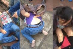 Clip: Nữ quái móc túi bị bắt, cởi quần để thoát thân