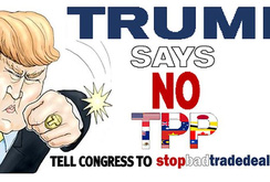 Donald Trump tuyên bố rút khỏi TPP ngay trong ngày đầu nhậm chức
