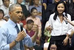 Video: Rapper Suboi hát Rap trước TT Obama