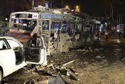 Đánh bom rung chuyển thủ đô Thổ Nhĩ Kỳ, 34 người chết, 125 người bị thương