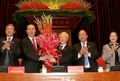 Ông Nguyễn Phú Trọng tái đắc cử chức vụ Tổng Bí thư