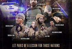 """IS đăng hình ảnh """"tưởng niệm"""" chiến hữu trong vụ tấn công Paris"""
