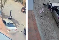 Clip: Tai nạn kinh hoàng, Camry hoảng loạn đâm 3 người chết