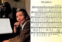 Gia đình nhạc sĩ Văn Cao hiến tặng Tiến quân ca cho tổ quốc, nhân dân