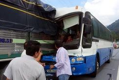 Vụ xe khách mất thắng trên đèo Bảo Lộc: Tài xế xe khách nói gì?