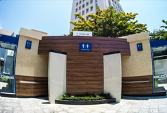"""Đà Nẵng: Khánh thành nhà vệ sinh """"5 sao"""" 1 tỉ đồng"""