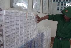 An Giang bắt vụ vận chuyển 10.000 gói thuốc lá ngoại nhập lậu