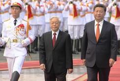Video: Lễ đón chính thức Chủ tịch Trung Quốc Tập Cận Bình tại Phủ Chủ tịch