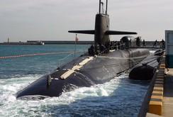 Mỹ đưa Tàu ngầm hạt nhân mang 154 tên lửa Tomahawk đến Hàn Quốc