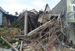 Sập giàn giáo ở Phú Quốc, 1 người chết, 4 người trọng thương