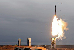 Clip: Phòng không Nga khai hỏa đồng loạt 12 tên lửa S-400