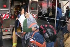 Tàu hỏa trật đường ray ở Mỹ, 103 người bị thương