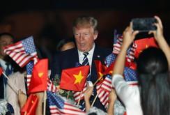 Video: Tổng thống Mỹ Donald Trump đến Hà Nội