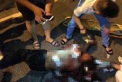 Hà Nội: Một thanh niên bị đâm gục trên đường Võ Chí Công