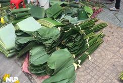 Phóng sự: Độc đáo, phiên chợ lá dong ở Sài Gòn