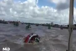 Chìm tàu trên biển Gành Hào, nhiều người chết