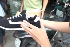 Thu giữ hơn 2.000 đôi giày nhái thương hiệu nổi tiếng