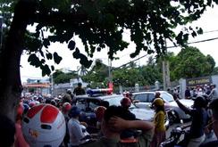 Bắt đối tượng quăng bom xăng vào hội trường Thành ủy Vũng Tàu