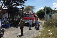 Ghi nhanh: Rò rỉ khí amoniac, 4 người nhập viện cấp cứu