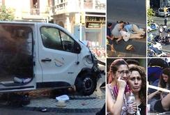 IS thừa nhận khủng bố xe tải làm 15 người chết ở Barcelona
