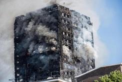 Chung cư bốc cháy ở London, ít nhất 12 người chết, gần 100 người bị thương