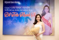 Clip: Giao lưu trực tuyến với Hoa hậu Hoàn cầu 2017 Đỗ Trần Khánh Ngân