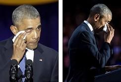 Nước mắt ấm áp của gia đình Tổng thống Obama