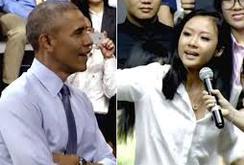 Rapper Suboi xuất hiện  trong Video tạm biệt Nhà Trắng của TT Obama